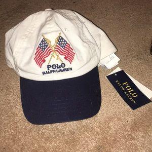 Polo Ralph Lauren American Flag Hat NBW NWT